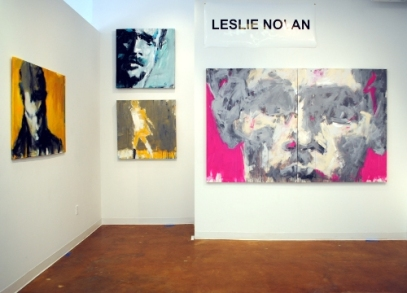 Leslie Nolan's solo exhibit at Touchstone Gallery