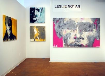 Leslie Nolan's solo exhibit at Touchstone Gallery