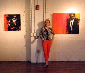 Washington, DC Contemporary Artist Leslie M. Nolan