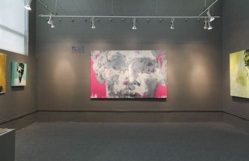 "Artist Leslie Nolan's ""Beyond the Edge"" at The Art League Gallery"