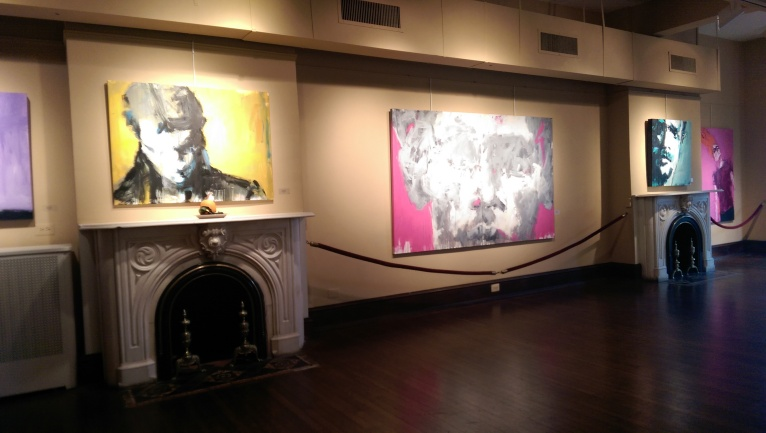 Leslie Nolan Exhibit at Arts Club of Washington
