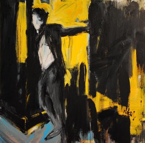 """Long Interval"" Washington, DC Artist Leslie Nolan"