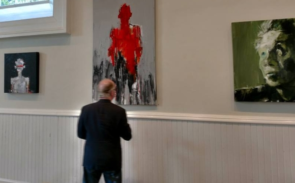 Seen at Leslie Nolan's Gallery Talk at Athenaeum Gallery