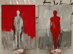 New paintings by Washington DC Artist Leslie Nolan